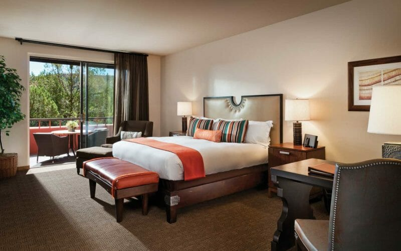 Casita Guestroom | Enchantment Resort in Sedona, Arizona