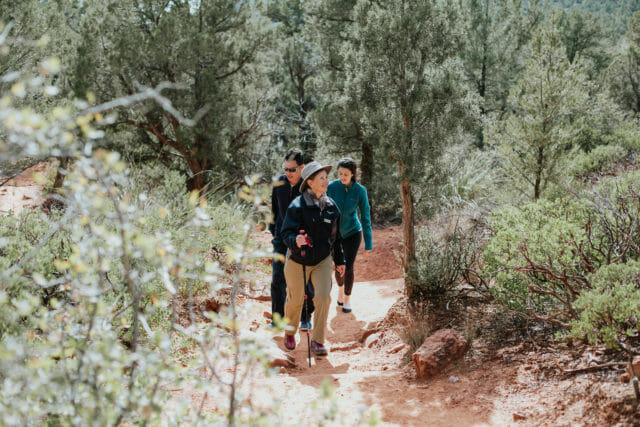 Guided hikes at Enchantment Resort Sedona