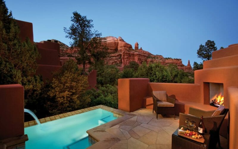 Pool Suite Terrace | Enchantment Resort in Sedona