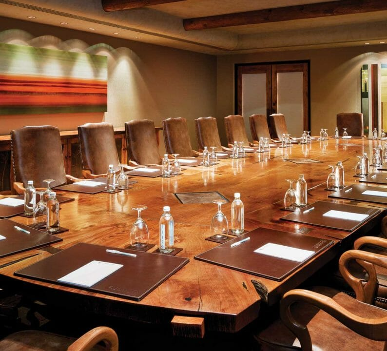 Village Boardroom at Enchantment Resort