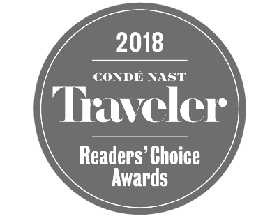 Conde Nast Traveler Readers' Choice Awards | Best Spa Resort | Mii amo