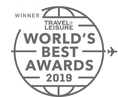 Winner Travel+Leisure World's Best Awards 2019