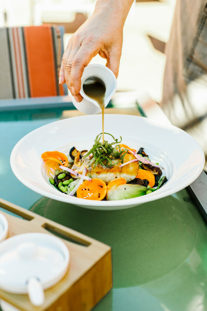 Locally Sourced dining at Mii amo